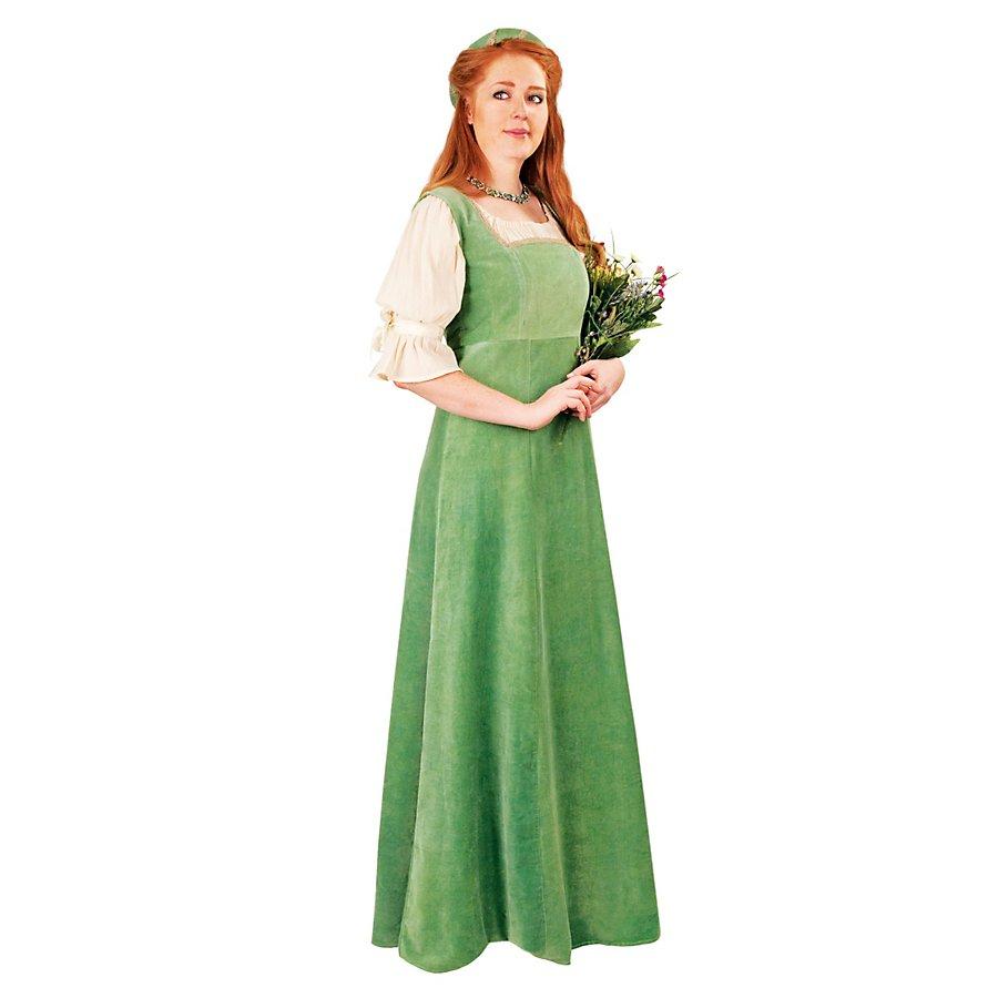 Burgherrin grün Kostüm