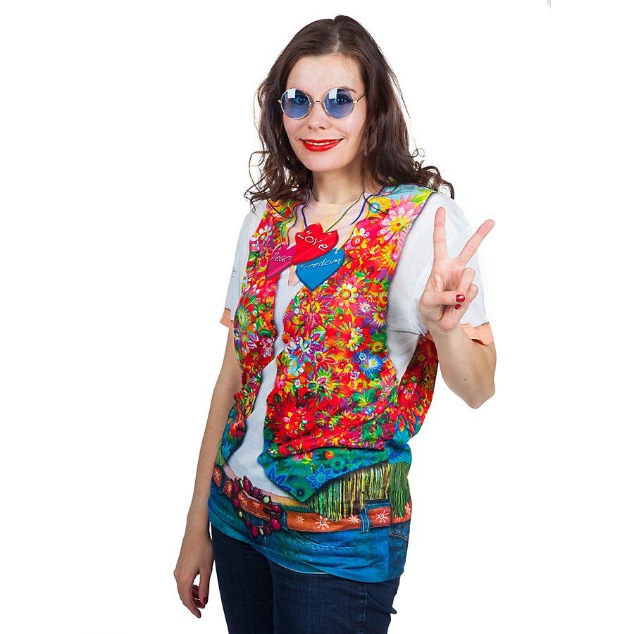 Fun Shirt Hippie Damen