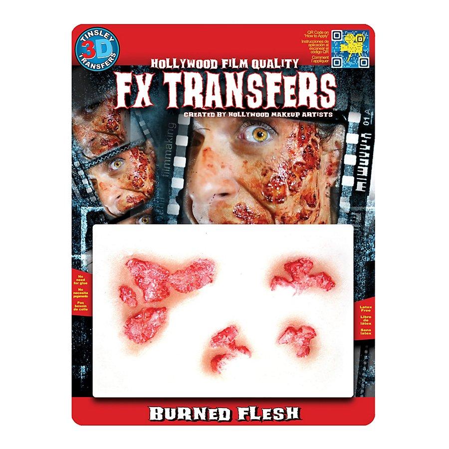 Brandwunden 3D FX Transfers