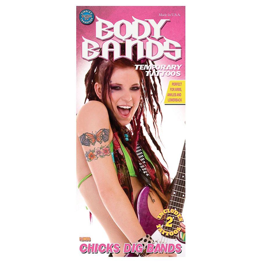 Hippie Arm-Klebetattoo