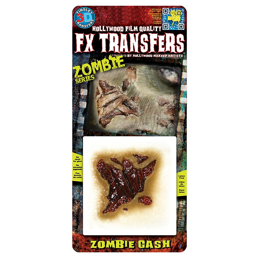Zombie Wunde 3D FX Transfers
