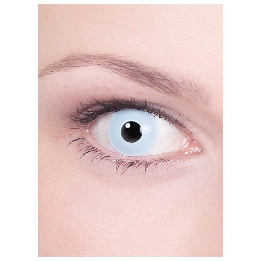 Kontaktlinse hellblau mit Dioptrien