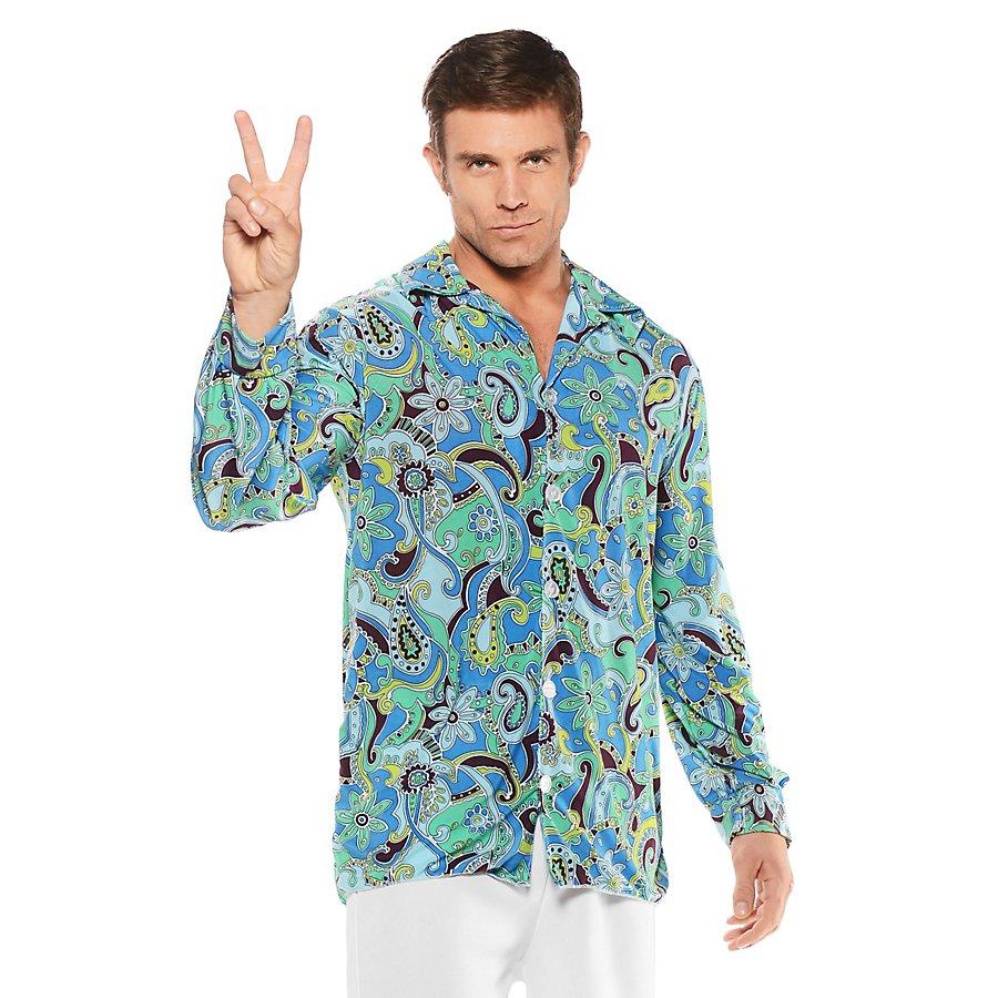 Hippie Hemd blau