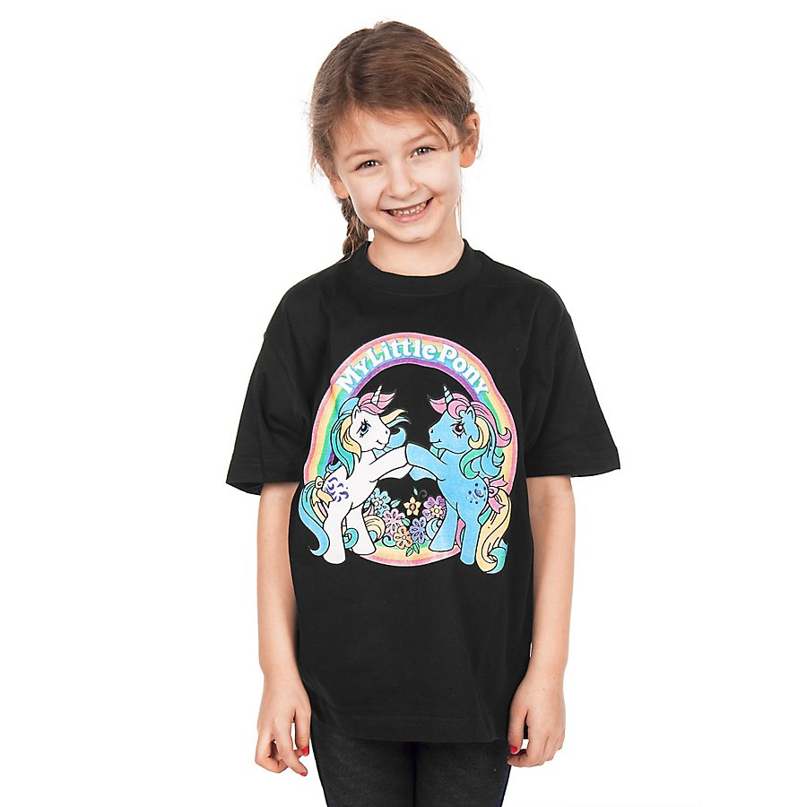 My Little Pony Kinder T-Shirt schwarz