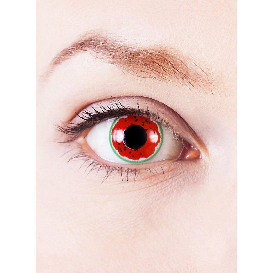 Wassermelone Kontaktlinsen