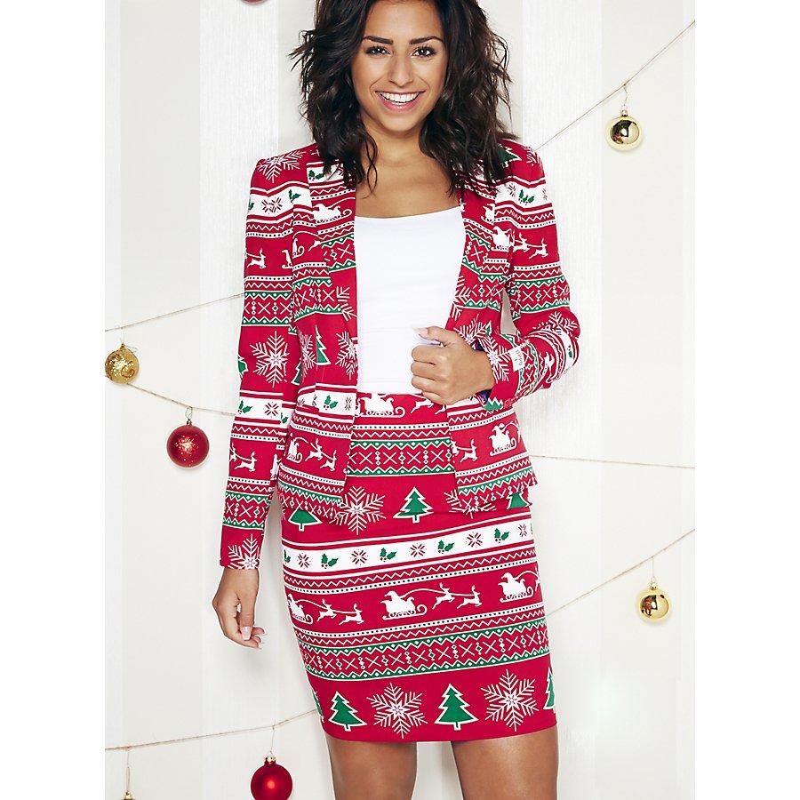 OppoSuits Winter Woman Damen Anzug