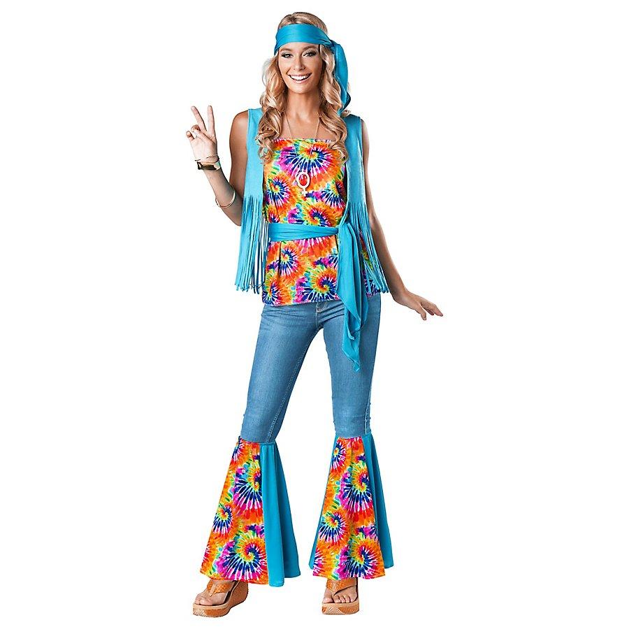 Batik Hippie Girl Kostüm
