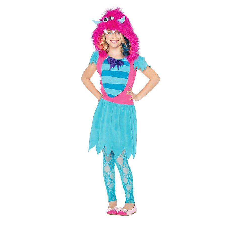 Rosa Grummel-Monster Kinderkostüm