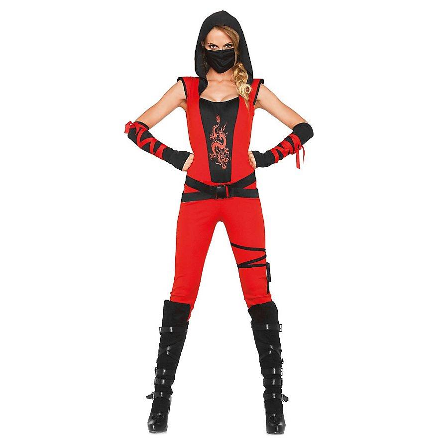 Sexy Schattenkrieger Kostüm