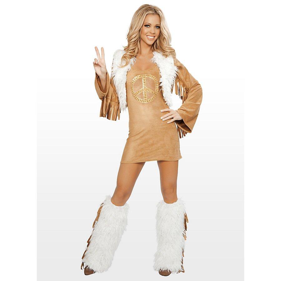 Sexy Hippie Premium Edition Kostüm