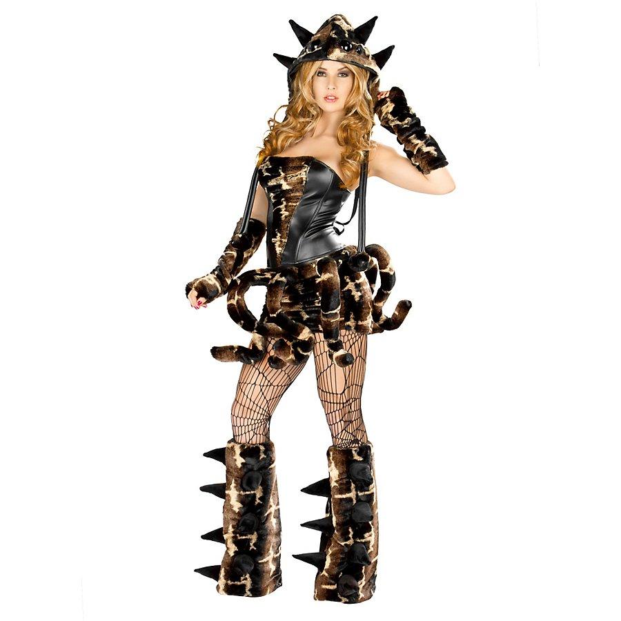 Sexy Vogelspinne Premium Edition Kostüm