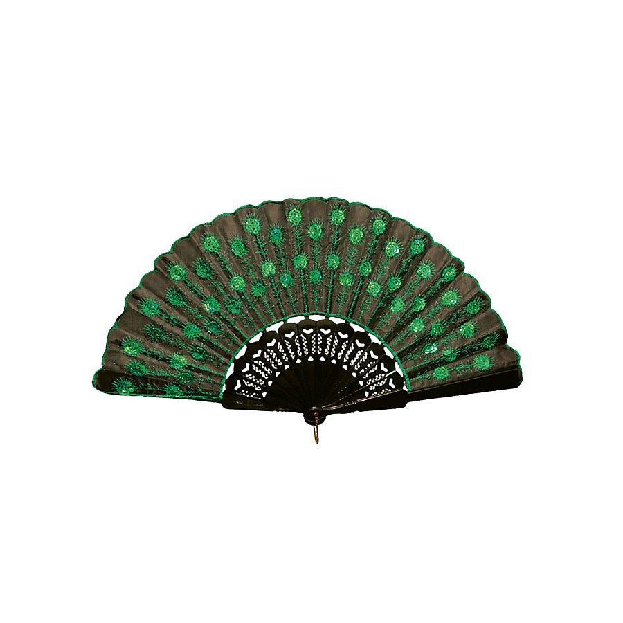 Fächer Distel grün