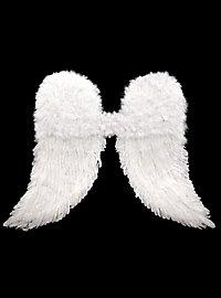 Weiße Engelsflügel Federn
