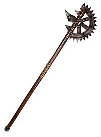 Steampunk Gear Axe