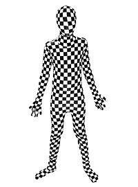 Morphsuit Kids Checkered Full Body Costume