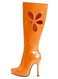 Hippie Stiefel orange