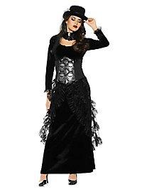 Lady Totenkopf Kleid