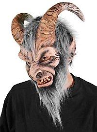 Schreckgestalt Krampus Maske