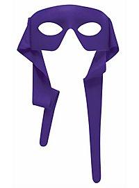 Superhelden-Maske violett