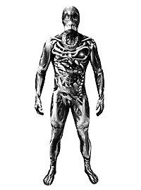 Morphsuit Skelett-Monster Ganzkörperkostüm