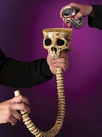Bierbong Skelett