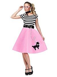 50er Jahre Pudel Kleid Kostüm