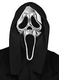Scream Maske silber