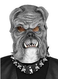 Bulldogge Maske grau