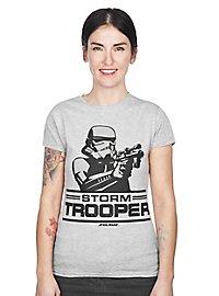 Stormtrooper Girlie Shirt schussbereit