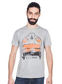 X-Wing Pilot T-Shirt grau