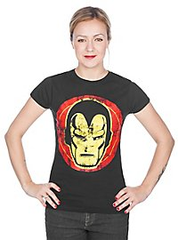 Iron Man Girlie Shirt Icon