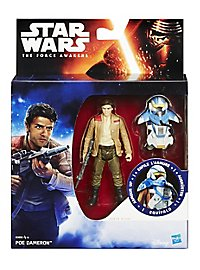 Star Wars Actionfigur Poe Dameron mit Rüstung