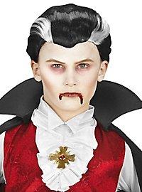 Vampire boy's wig