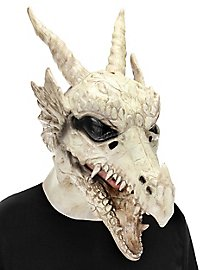 Dragon full mask with movable mouth