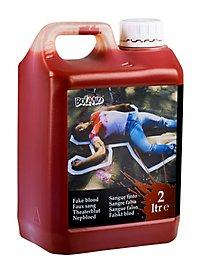 2 Liter Kunstblut