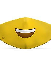 Stoffmaske für Kinder Smiley