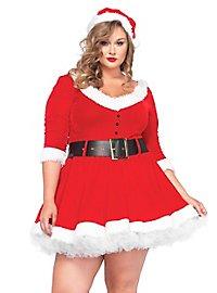 Weihnachtsfrau XXL Kostüm