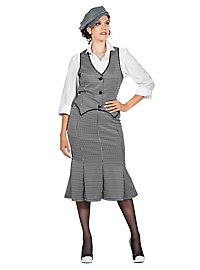 20er Jahre Aunt Polly Kostümset für Frauen
