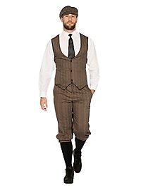 20er Jahre Dandy braun Kostümset für Männer