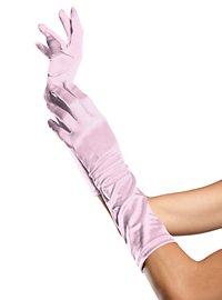20er Jahre Handschuhe rosa
