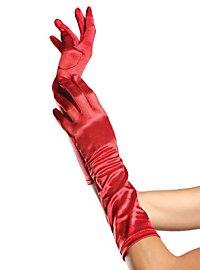 20er Jahre Handschuhe rot