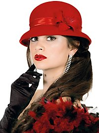 20's bell hat red