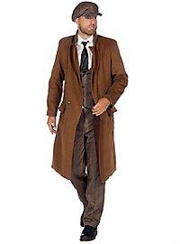20s coat for men brown