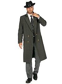 20s coat for men dark green