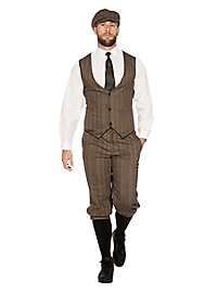 20's dandy brown costume set for men