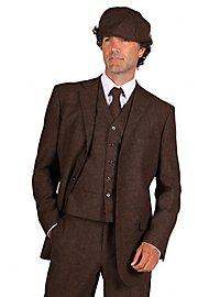20s suit jacket brown