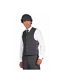 20s suit vest grey