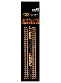 25/50-shot ammunition for toy pistols, 4 strips