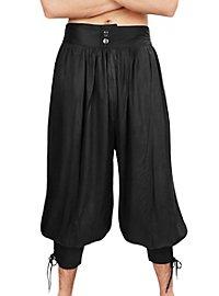 3/4 Harem Pants black