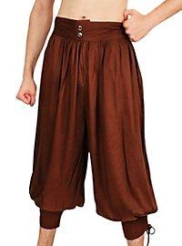 3/4 Harem Pants brown